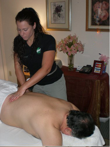 massage table
